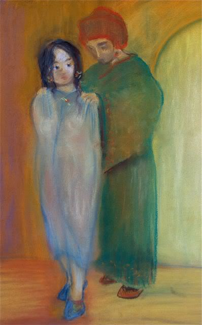 Salomé et Hérodiade... (pastel) IMG_0746-1