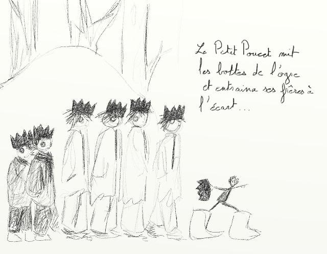 Le petit Poucet version phi Pp29