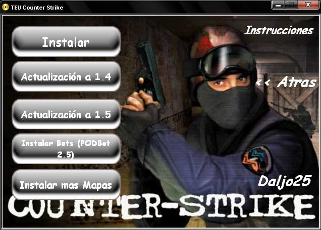 Counter Strike 1.5 - 1.6 - Condition Zero y Source [4 en 1] Cs15