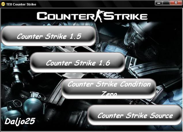 Counter Strike 1.5 - 1.6 - Condition Zero y Source [4 en 1] Portada