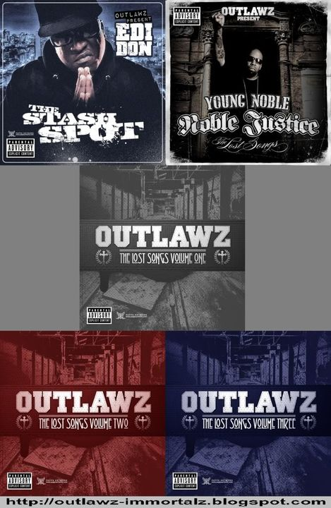Upcoming Outlawz Albums Covers Titovelioutlaw