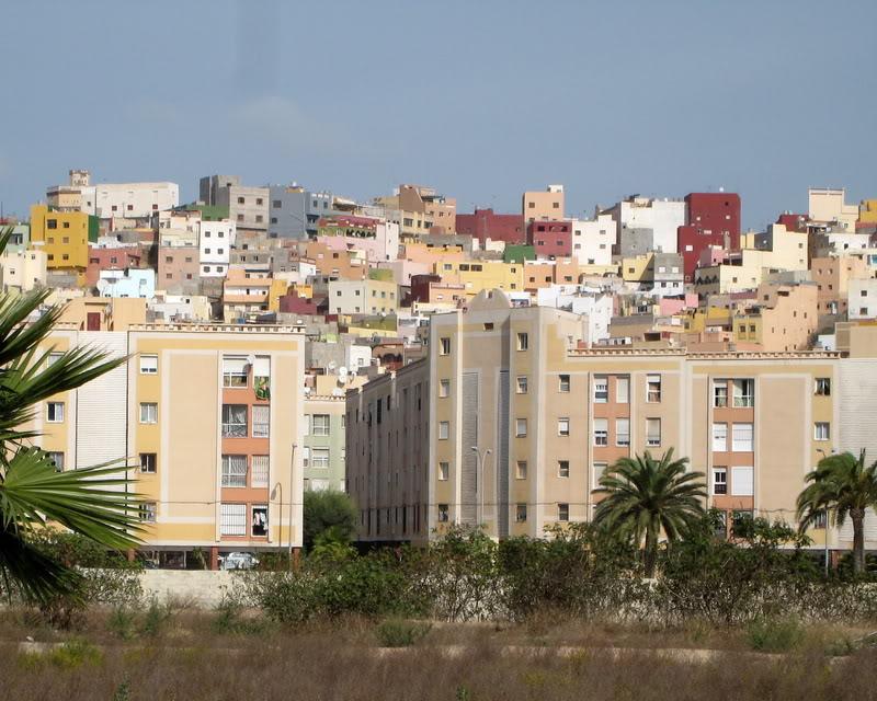 صور من إقليم الناظور في منطقة الريف شمال المغرب Barrio-tchino