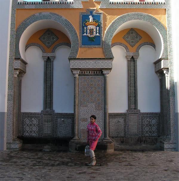 صور من إقليم الناظور في منطقة الريف شمال المغرب Fuente-del-bombeo