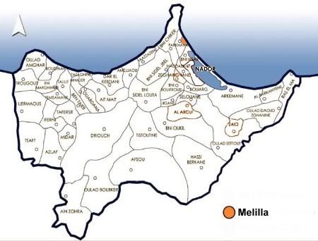 صور من إقليم الناظور في منطقة الريف شمال المغرب Melilla