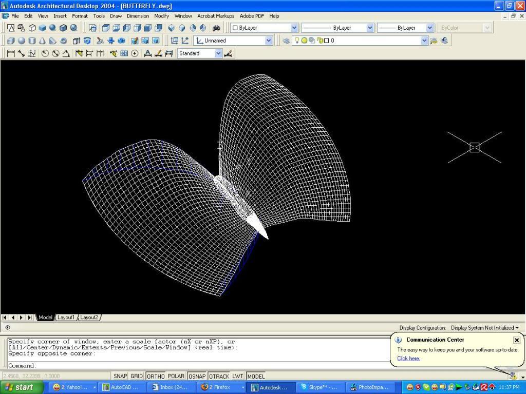 3D autocad tutorial But1