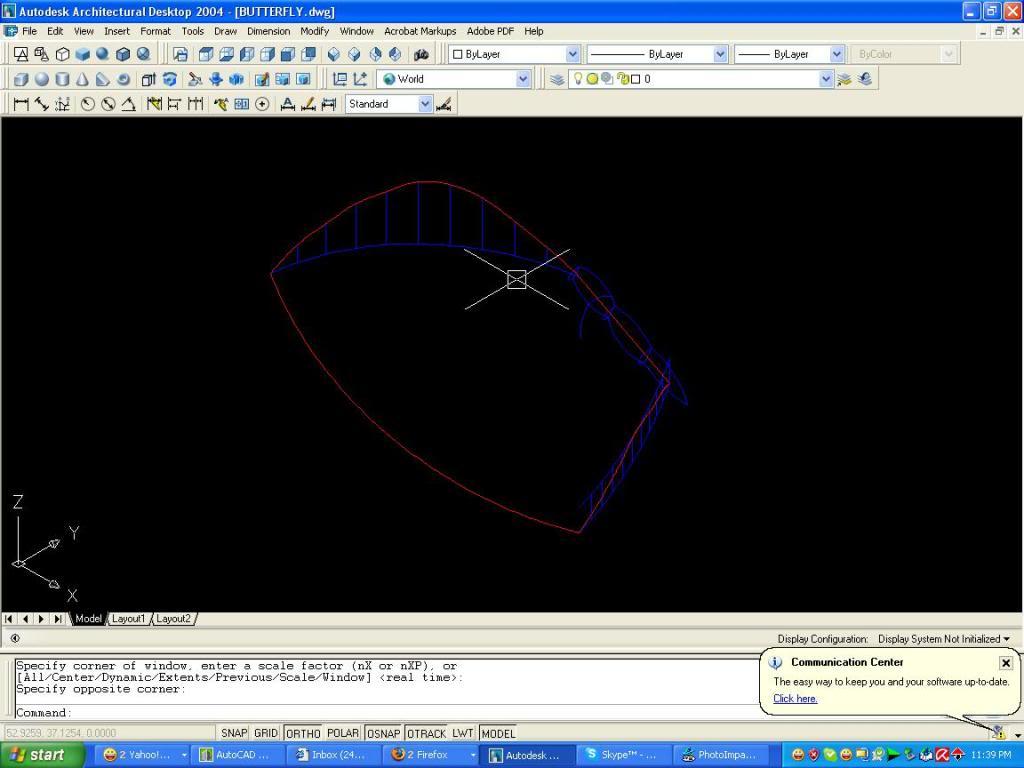 3D autocad tutorial But2