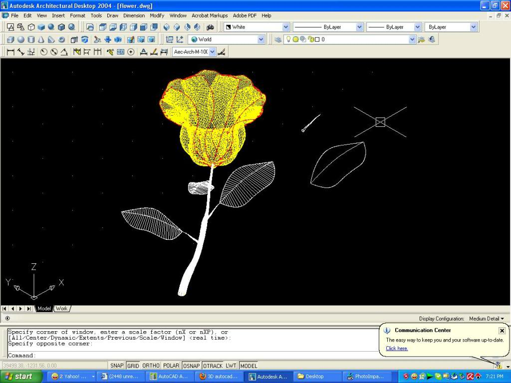 3D autocad tutorial - Page 2 Leaves