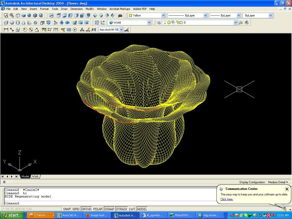 3D autocad tutorial - Page 2 Simpleflower2