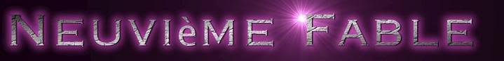 Neuvième Fable Cooltext77192908