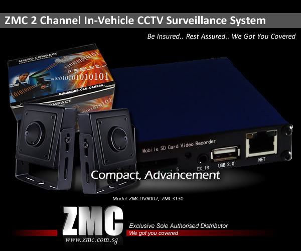 ZMC -THINKWARE/PARROT/EASYCAR/SPY/DOD 2ChDVRnew