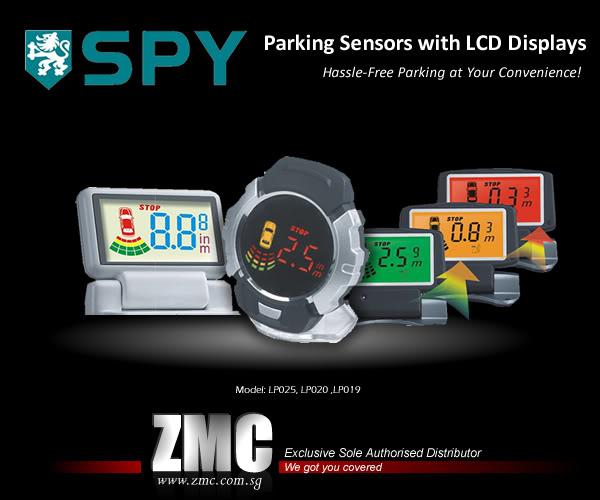ZMC -THINKWARE/PARROT/EASYCAR/SPY/DOD ParkingSensors