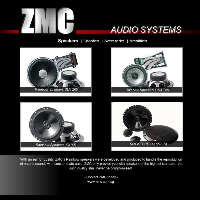 ZMC -THINKWARE/PARROT/EASYCAR/SPY/DOD Speakers
