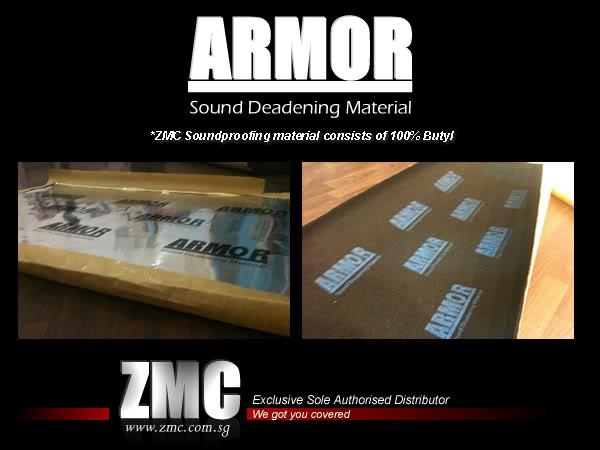 ZMC -THINKWARE/PARROT/EASYCAR/SPY/DOD Soundproof