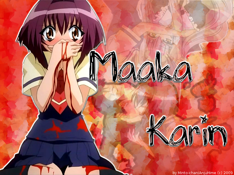 .: Minto-chan no Sekai :. Karin-wall