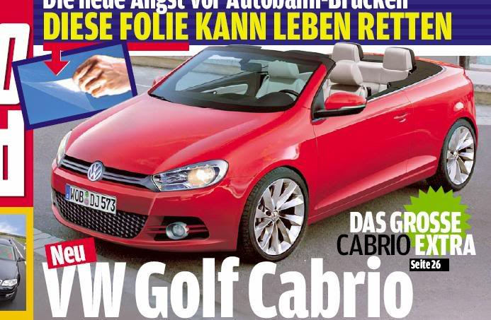 2011 - [Volkswagen] Golf VI Cabriolet [Mk6] Ffg