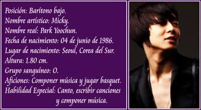 [Discografía] Dong Bang Shin Ki (동방신기) Micky-1