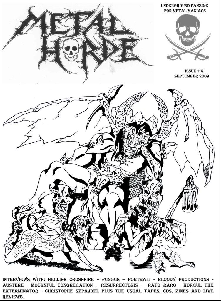 Metal Horde Zine - Nº 14 na rua a partir de 1 de Março CAPA-1