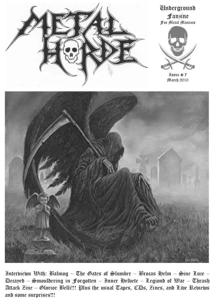 Metal Horde Zine - Nº 14 na rua a partir de 1 de Março CAPA-2