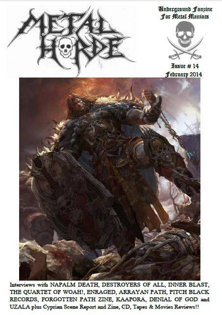 Metal Horde Zine - Nº 14 na rua a partir de 1 de Março - Página 2 CapaMH14