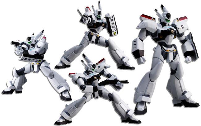 Otras figuras Revoltech Yamaguchi de Kaiyodo Matrixcollectibles_Patlabor_Ingram_