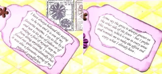 Karelyn's; Words of Wisdom Mariassayings650X296