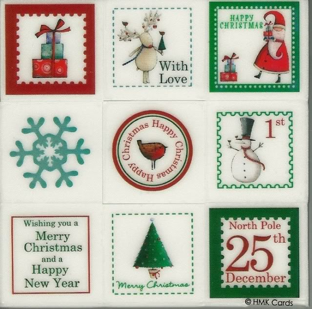 Christmas stamps, mag freebies Stamps