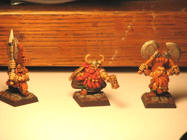 Dwarfs going for a dip! Now with some greenskins. Dwarf1