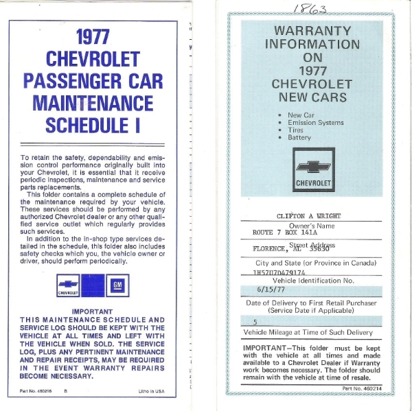 1977 Orig Documents And Build Sheet--pics 005_zpsy3gwvvmu