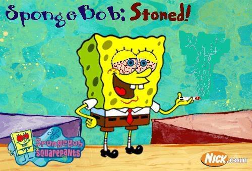 تحبون سبونج بوب اذا تحبونه شوفو الصور SPONGE_BOB_STONED