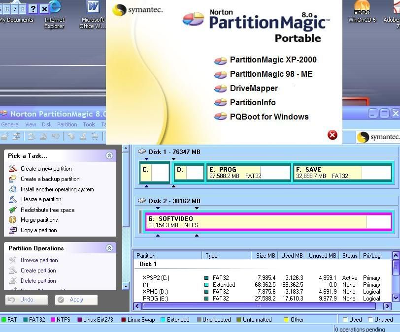 Cân thận với các chương trình phân vùng, phục hồi ổ đĩa PM8051