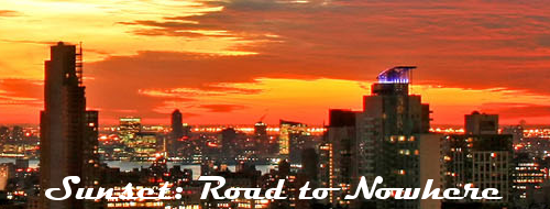 Sunset: Road to Nowhere - A Gang-Driven with Powers RP Board SunsetRoadtoNowhereLogo