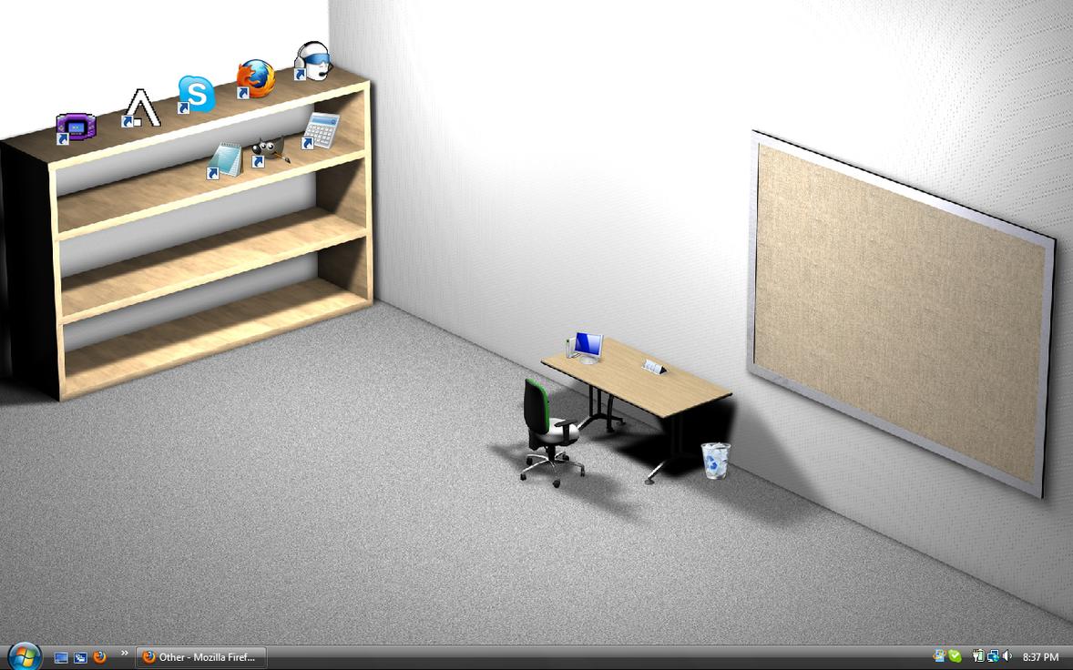 Post your desktop Desk-1