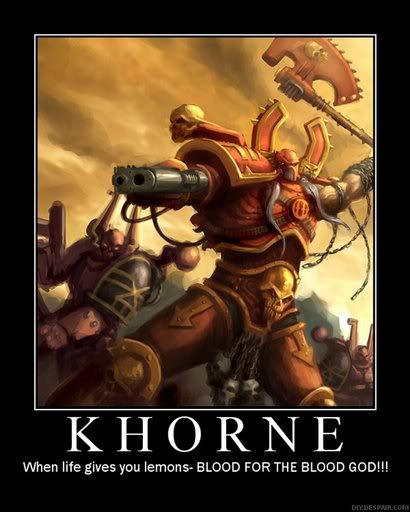 Warhammer demotivational posters 40k20Khorne2001