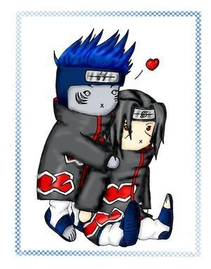 [GALERIA] Naruto Ninjas in love Itachi_and_Kisame_glomp_by_hara_yum