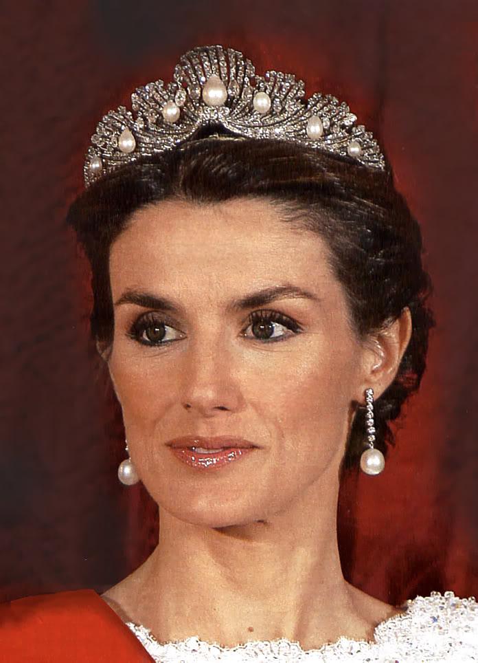Joyas de la familia real Española Letizia