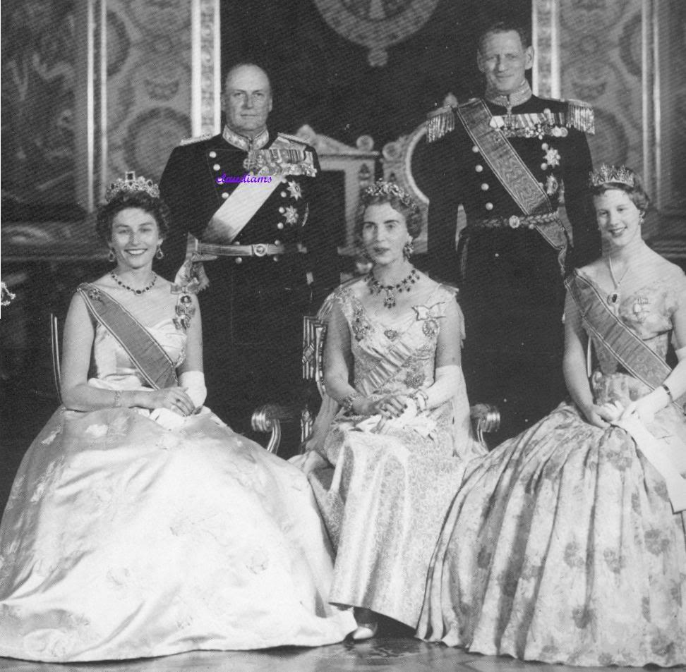 Casa Real de Noruega AstridNorway1958StateVisitDk