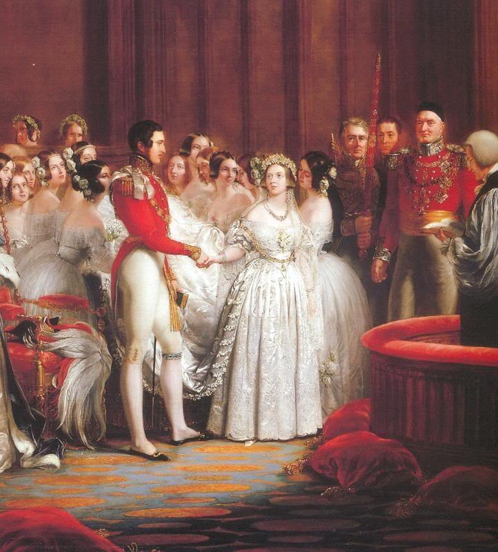 NOVIAS DEL AYER FGRVictoriaAlbertwedding