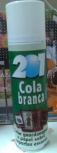 Spray de cola branca Img024