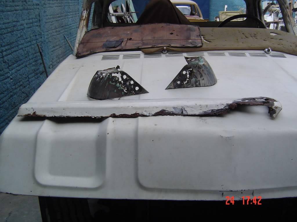SETE GALO RESCUE TRUCK - RESTAURAÇÃO DE UMA C-10   - Página 2 Camionete_2021