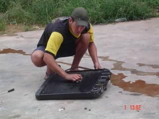 SETE GALO RESCUE TRUCK - RESTAURAÇÃO DE UMA C-10   SeteGaloRescueTruck057