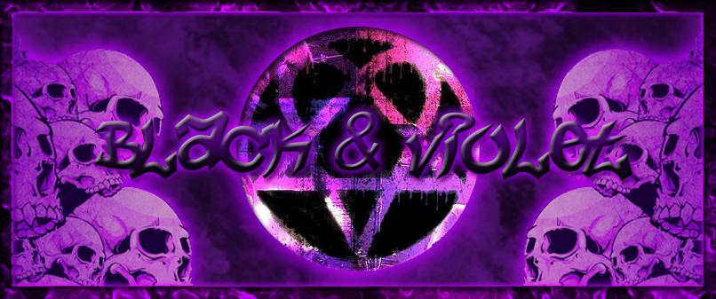 Black & Violet