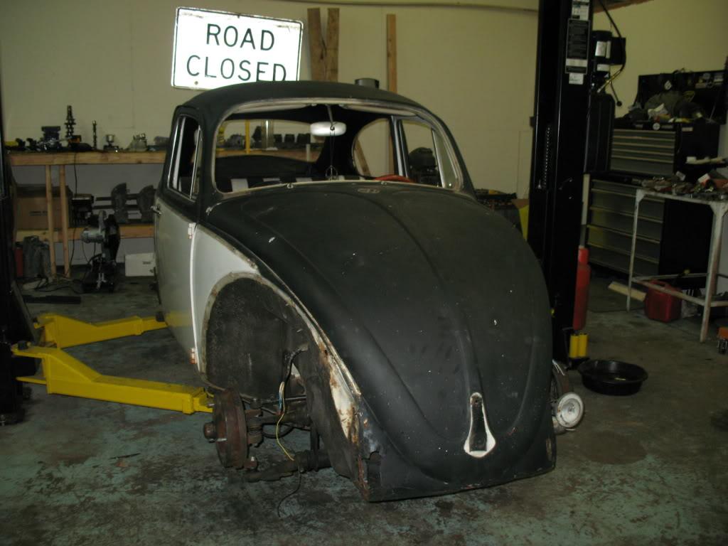 My new 66 (Herbie) Herbieearlystages5-03-09001