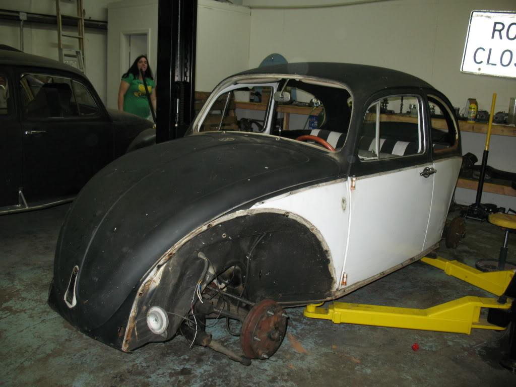 My new 66 (Herbie) Herbieearlystages5-03-09002