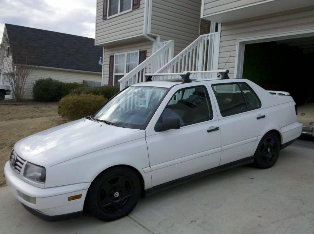 My 1997 Jetta GT Newrack2-2-2011
