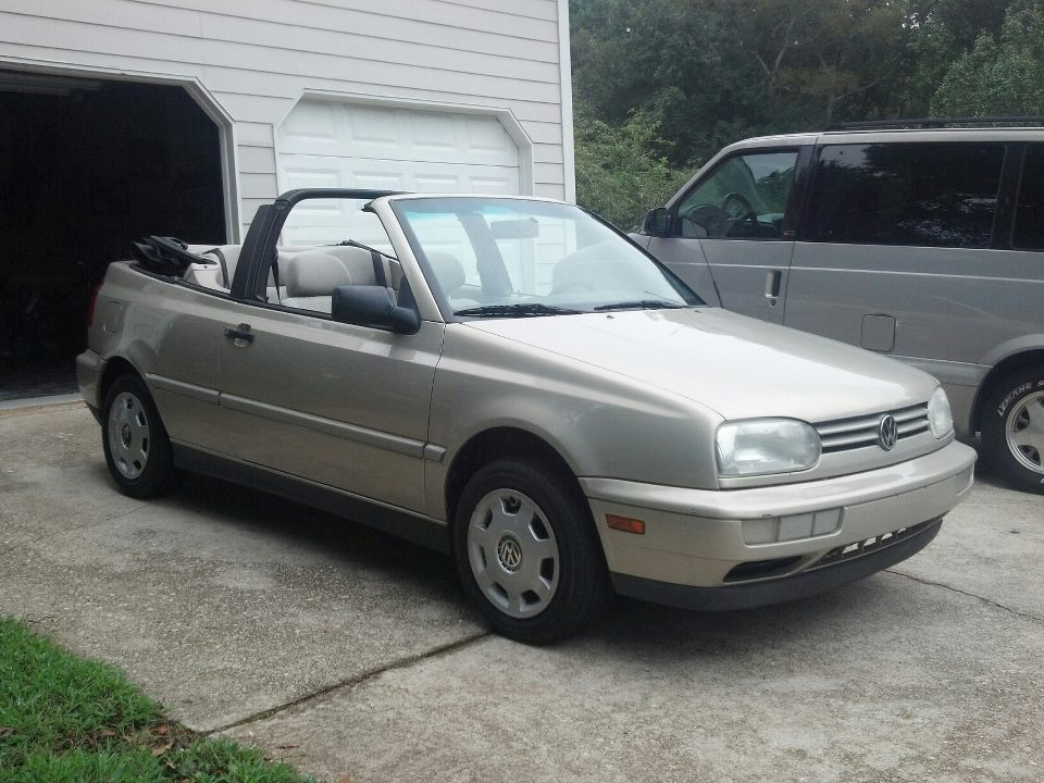 1999 VW Cabrio DayIgotit9-03-12