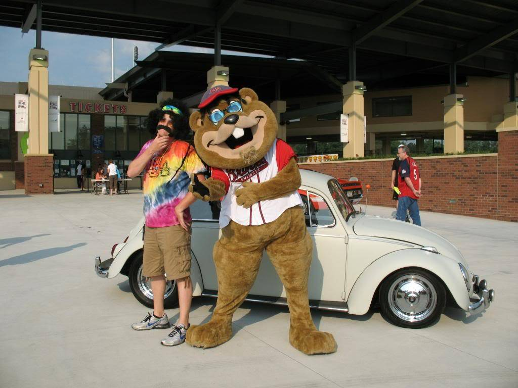 "70""s night with the Gwinnett Braves GwinnettBravesgame015"