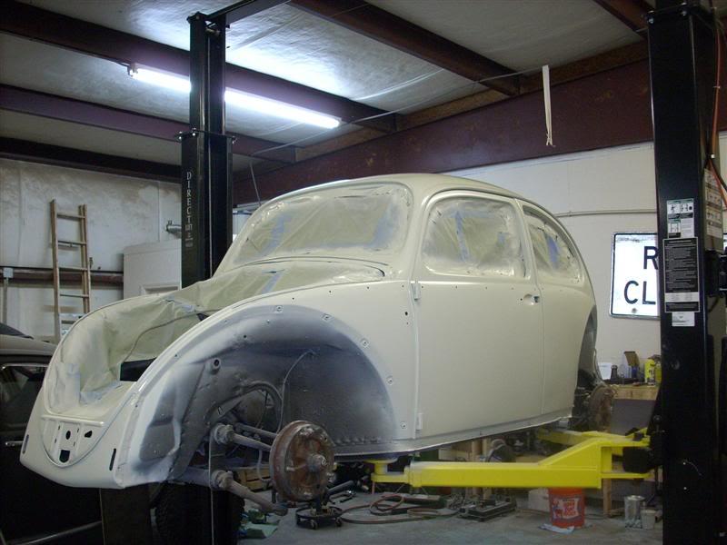 My new 66 (Herbie) Newpaint1