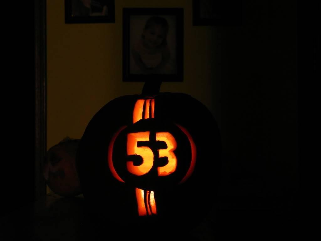 post your pumpkins Halloween2009030