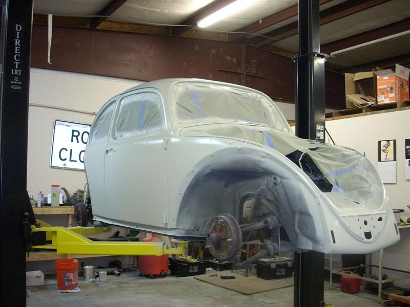 My new 66 (Herbie) Newpaint5
