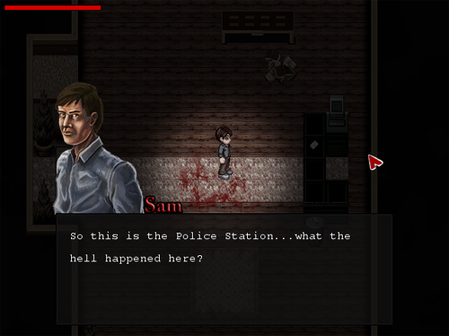 SILENT HILL: REMEMBERANCE [XP] Policestation